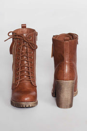 Tan Edge Of Life Combat Boots