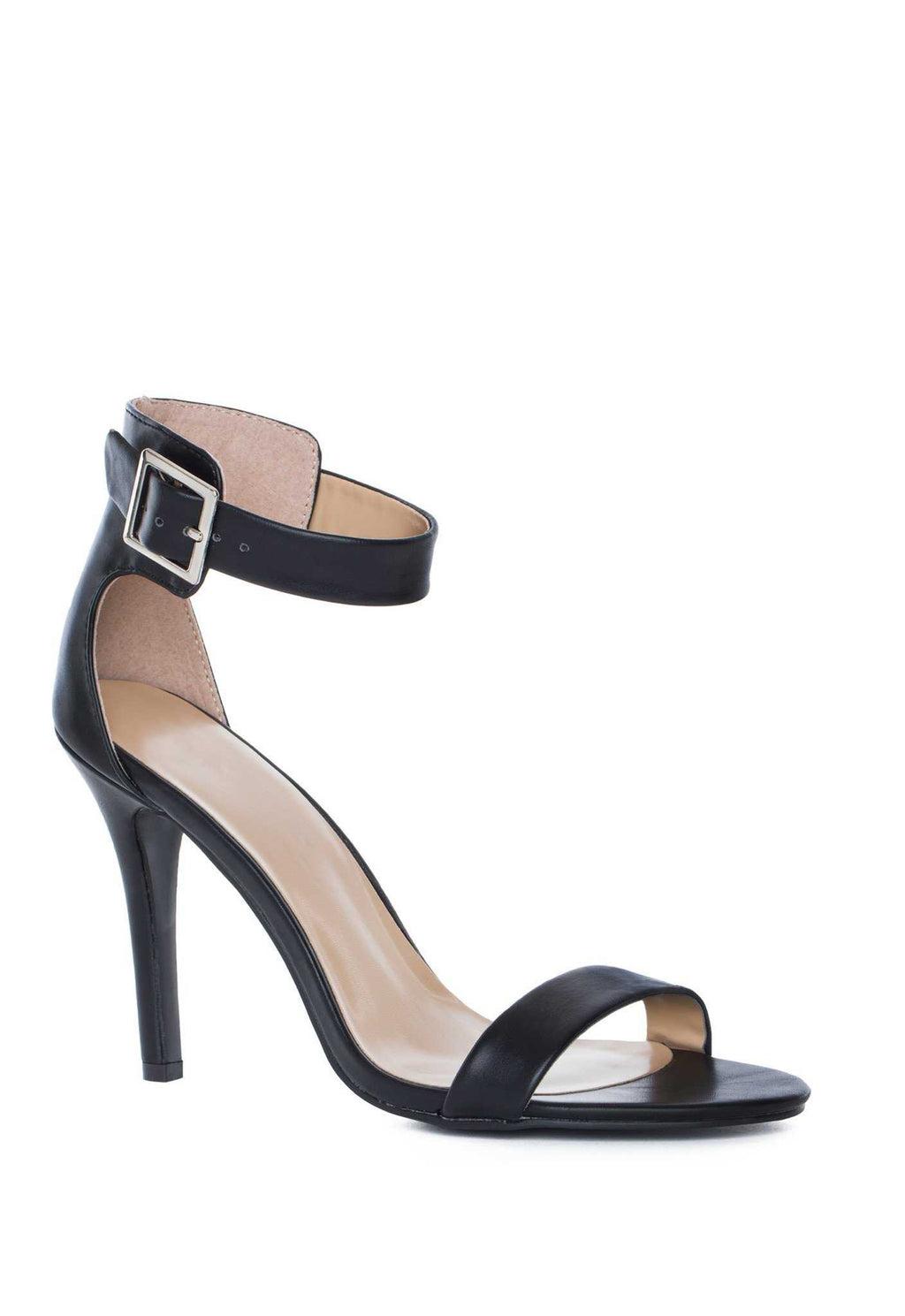Shoes - Giovanna Heels - Black