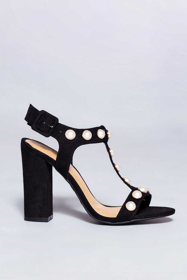 Shoes - Hidden Gem Heels - Black