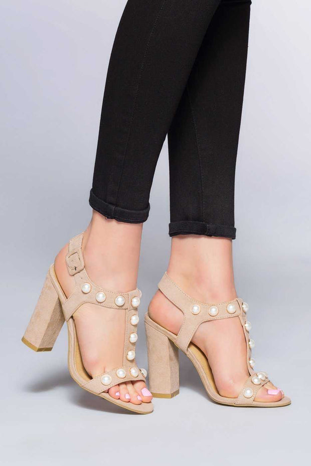 Shoes - Hidden Gem Heels - Nude