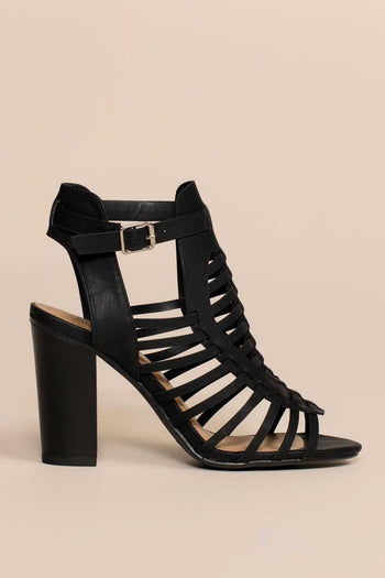 Shoes - Iva Sandals - Black