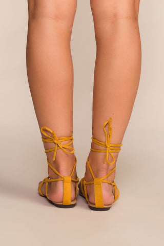 Shoes - Jeanie Sandals - Honey
