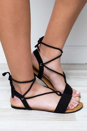 Shoes - Kailani Sandals - Black