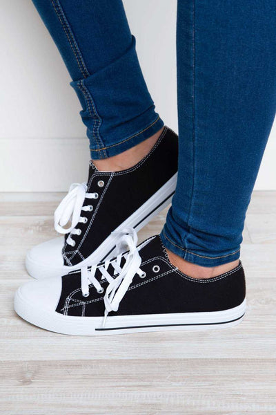 Shoes - Kendall Sneakers - Black