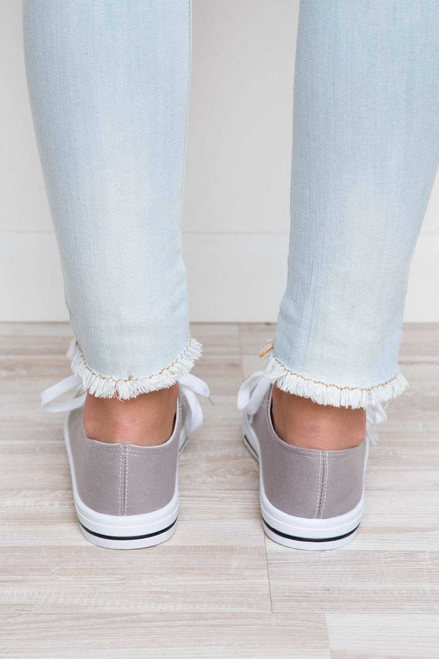 Shoes - Kendall Sneakers - Gray
