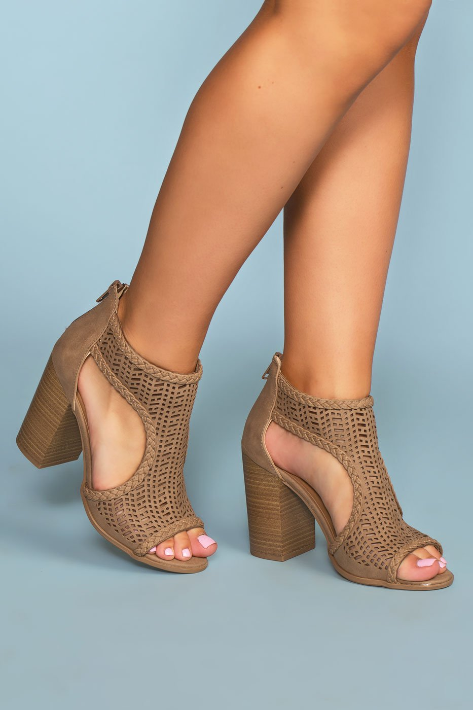 3044849525e ... Shoes - Lennox Block Heels - Taupe ...