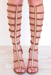 Shoes - Meera Gladiator Heels