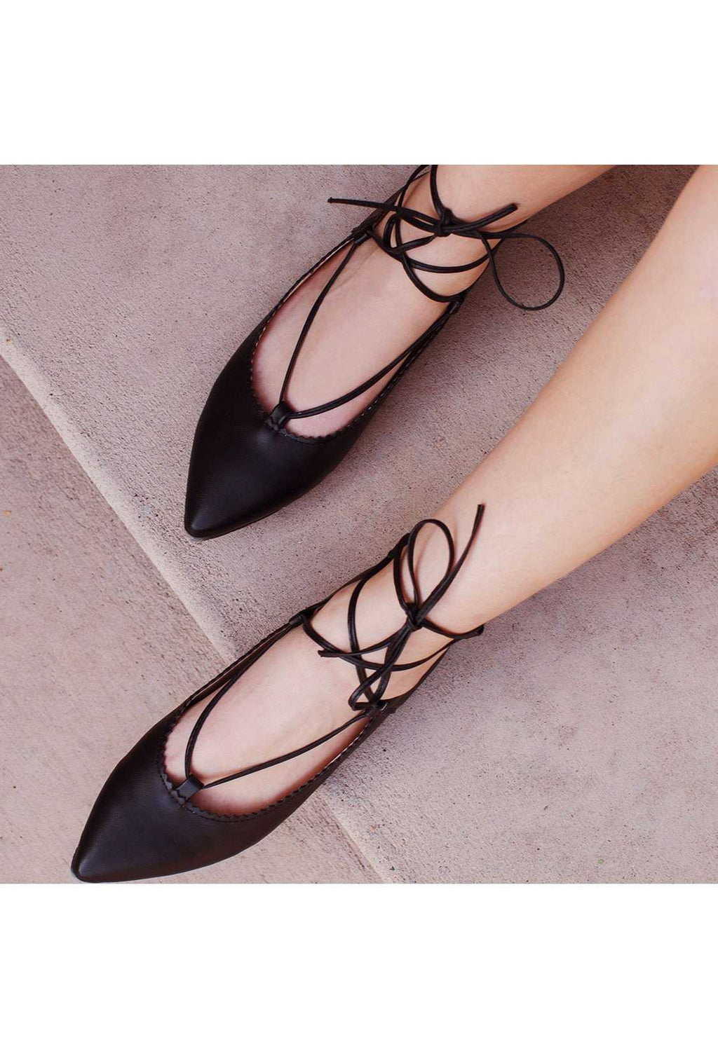 Shoes - On Point Ballet Flats