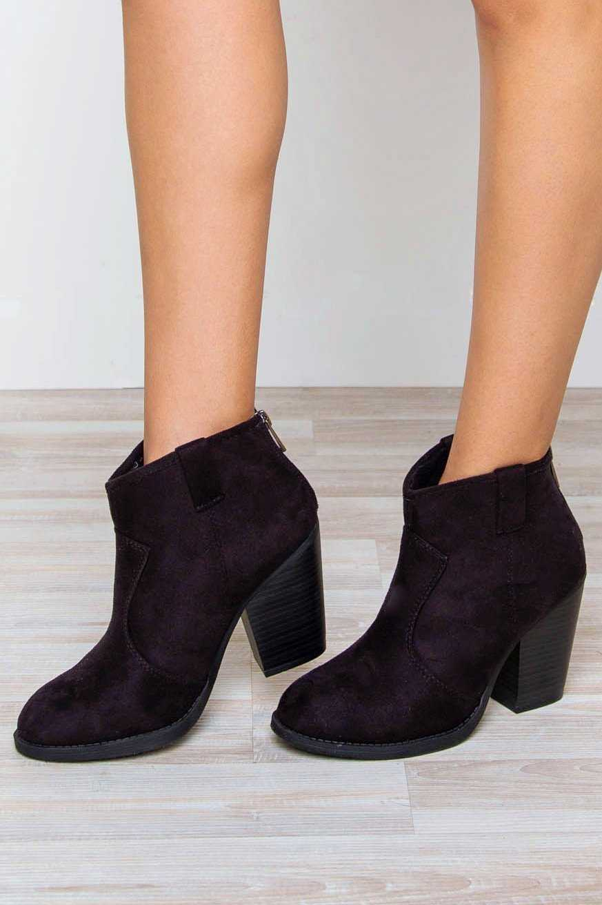 Shoes - Rebel Booties - Black