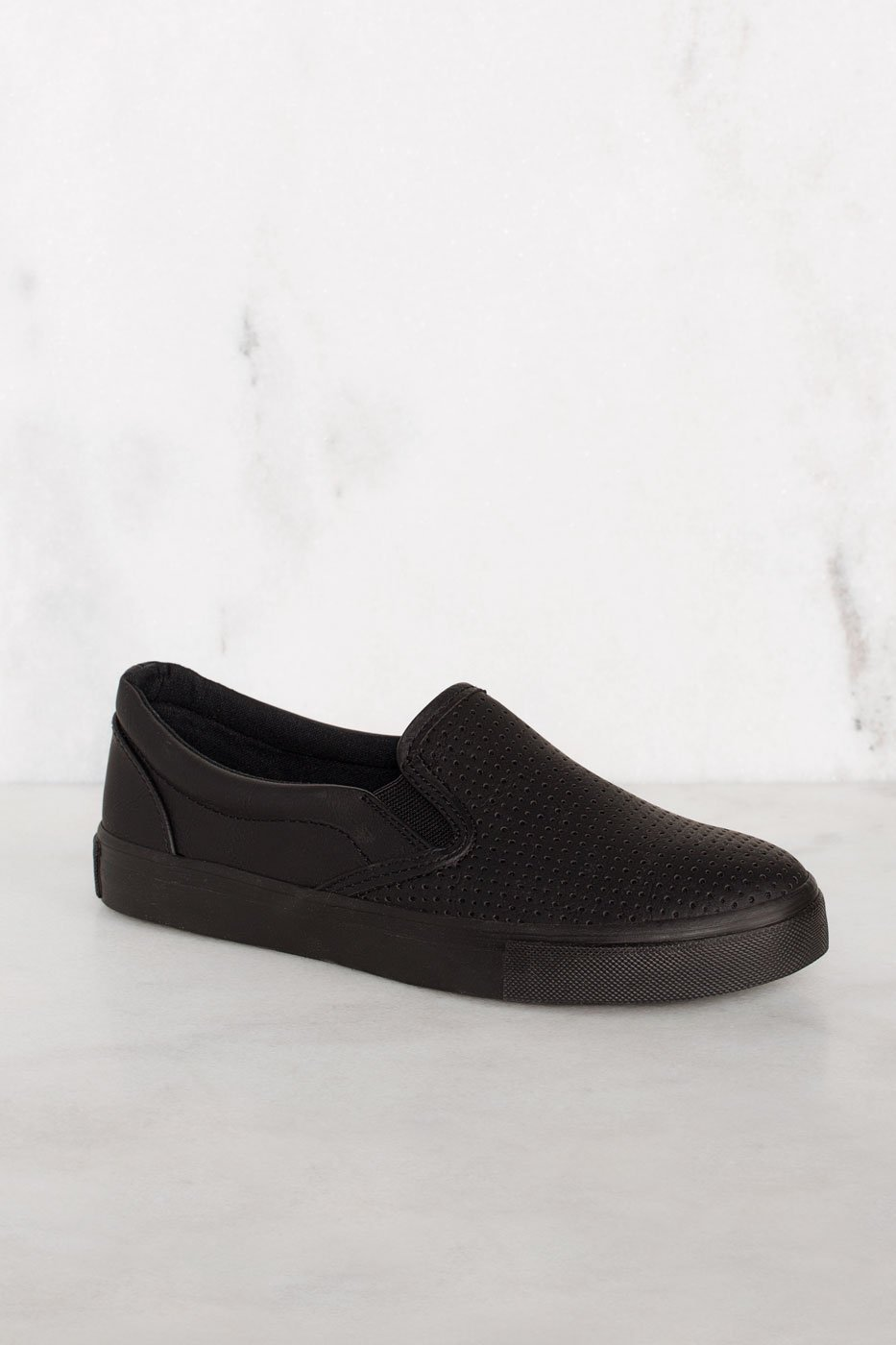 9514081992d34 Second Nature Slip-On Sneakers - All Black | Fortune Dynamic