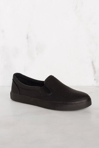Shoes - Second Nature Slip-On Sneakers - All Black