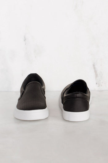 Shoes - Second Nature Slip-On Sneakers - Black