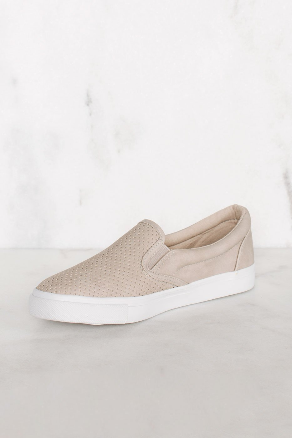 Shoes - Second Nature Slip-On Sneakers - Clay