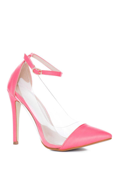 Shoes - Shut Up And Dance Pumps - Neon Pink