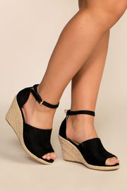 Shoes - Soho Wedges - Black
