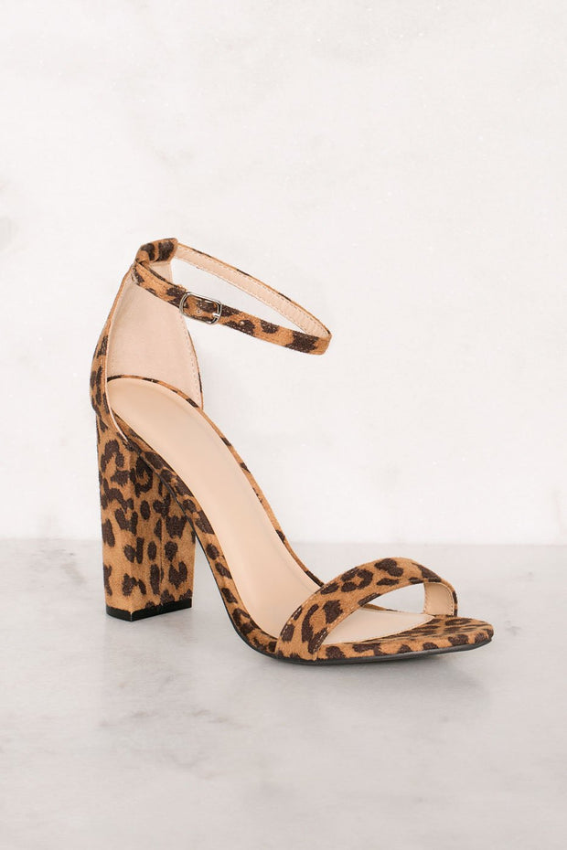 Shoes - Superstition Heels - Leopard