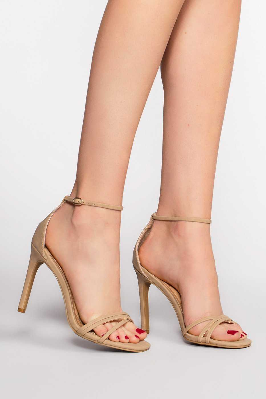 Shoes - Timeless Heels - Natural