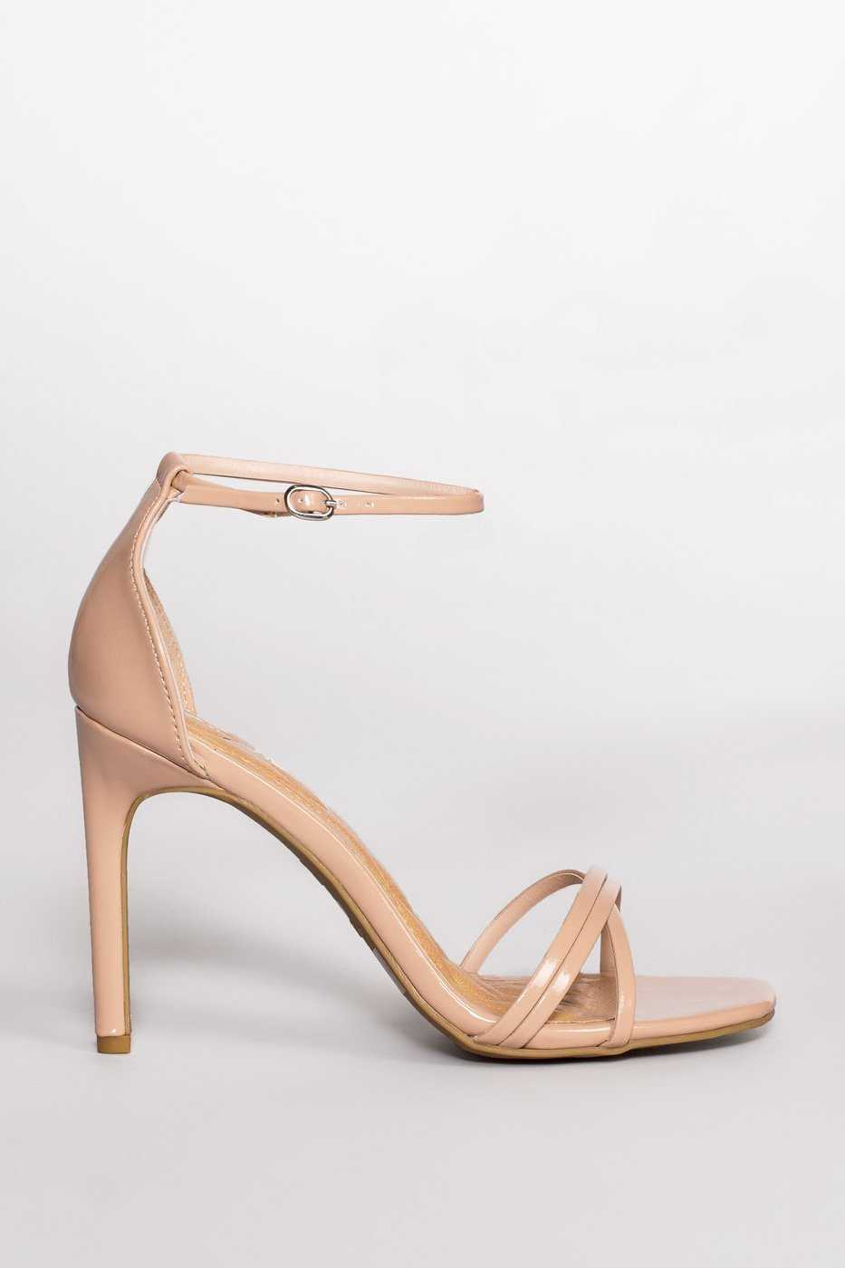 cd99d3079b76 ... Shoes - Timeless Heels - Nude Patent ...