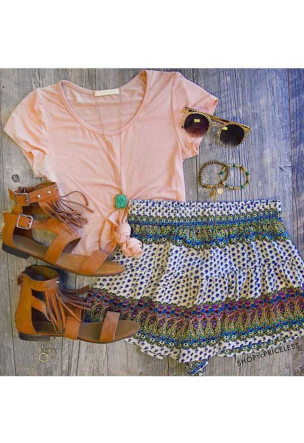 Shorts - Moroccan Sunset Shorts