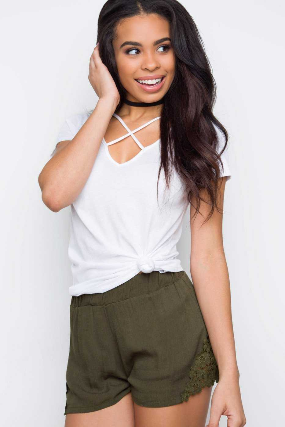 Shorts - New Dawn Shorts - Olive