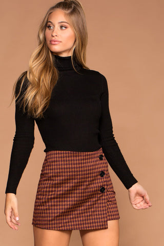 Jameson Brick Corduroy Skirt