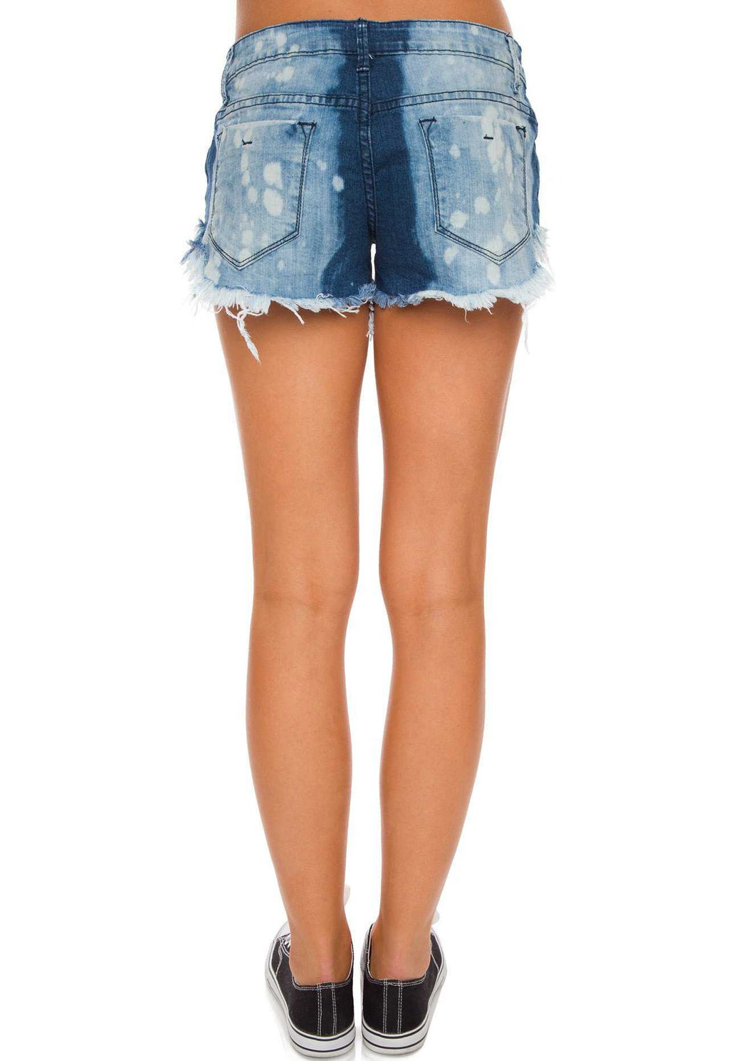Shorts - Skye Distressed Shorts