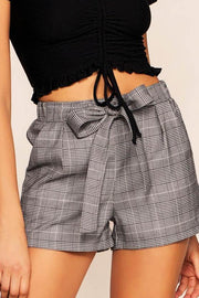 Vancouver Plaid High Waisted Shorts | must have