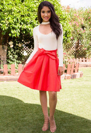 Skirts - Beautiful Now Skirt - Coral