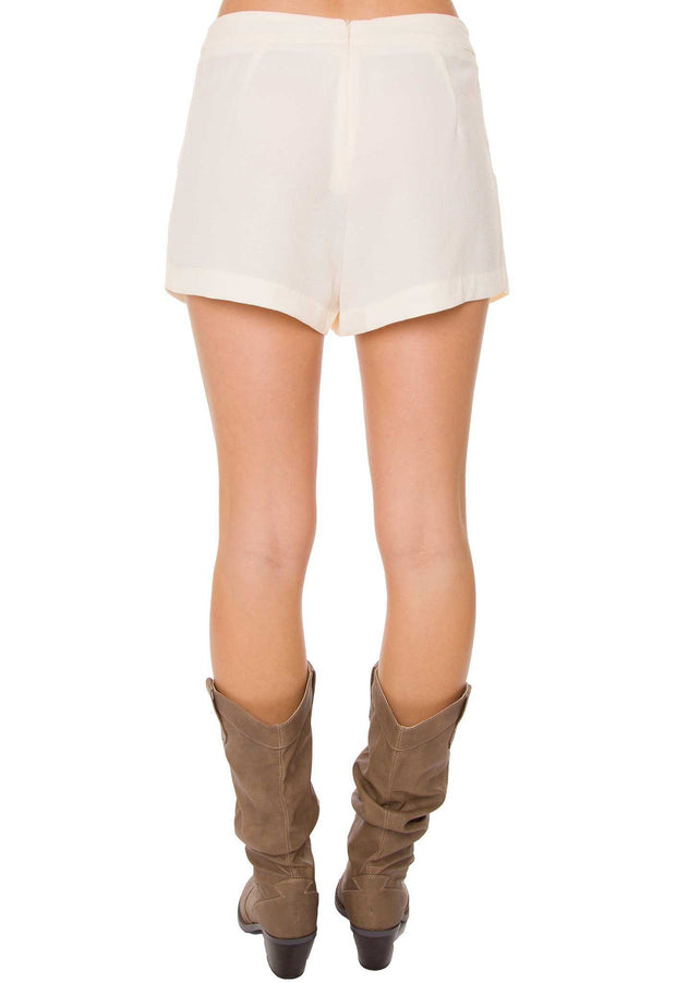 Skirts - Dream On Skort - Ivory