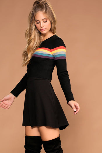 Skirts - North Black Skater Skirt