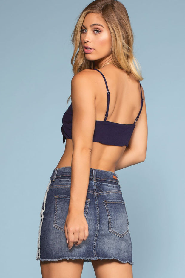 Skirts - Off Track Denim Skirt