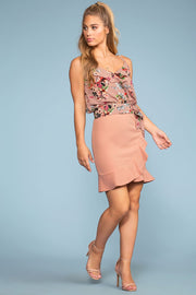 Skirts - Paris On Sunday Skirt - Blush