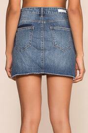 Skirts - Patch It Up Denim Skirt
