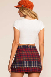 Skirts - Penn Plaid Skirt
