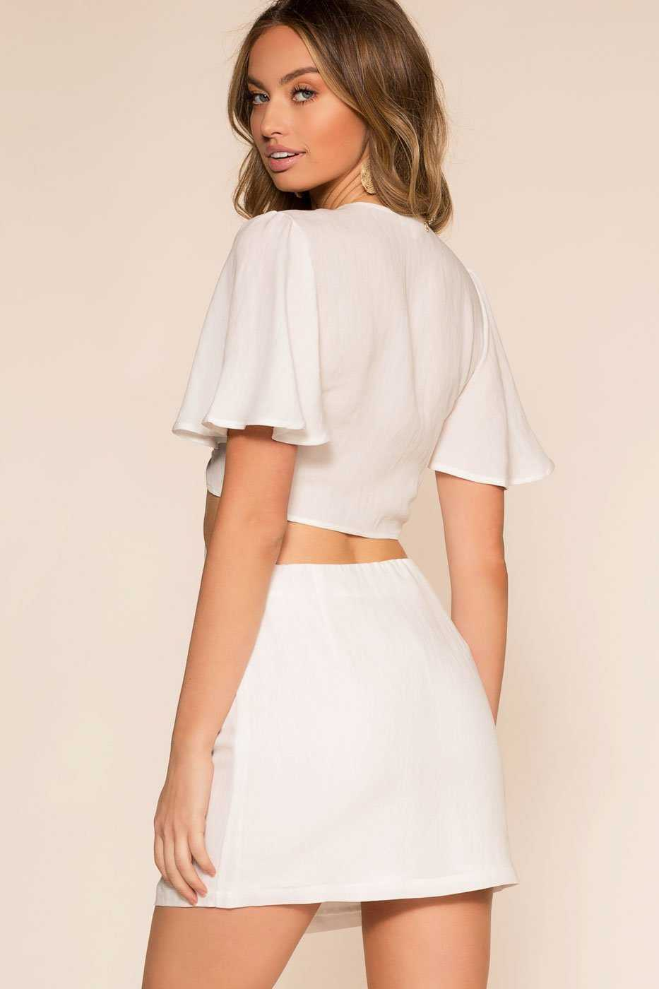 Skirts - Perfectly Put Skirt - Ivory