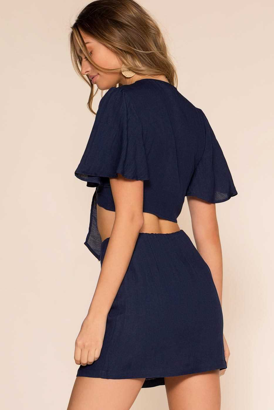 Skirts - Perfectly Put Skirt - Navy