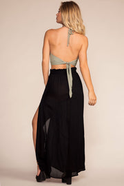 Skirts - Scenic Drive High Waisted Skirt - Black
