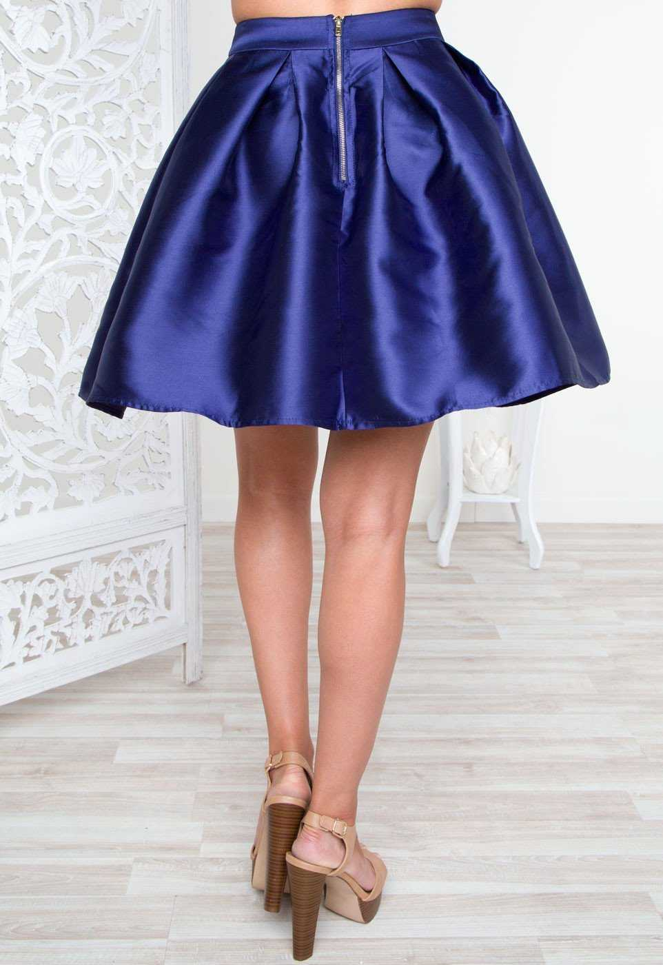 Skirts - What You See Skirt - Blue