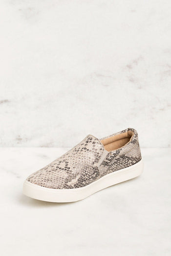 Priceless | Snakeskin | Slip-On Sneakers | Shoes | Womens