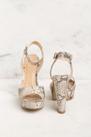 Priceless | Snakeskin Heels | Shoes | Womens