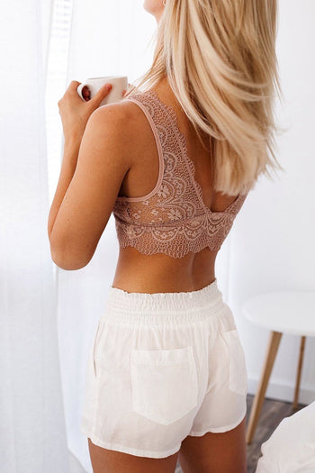 Lover's Game Rose Lace Bralette