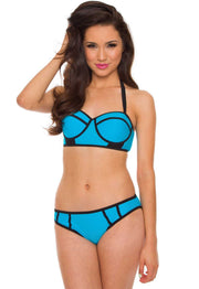 Swimwear - Marisol Bathing Bottom - Blue