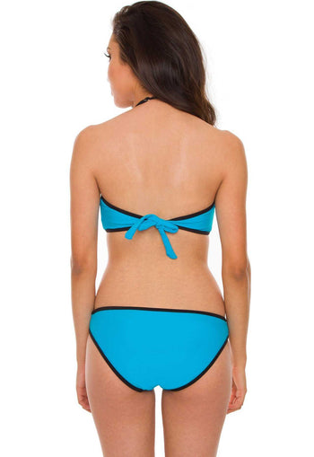 Swimwear - Marisol Bathing Top - Blue