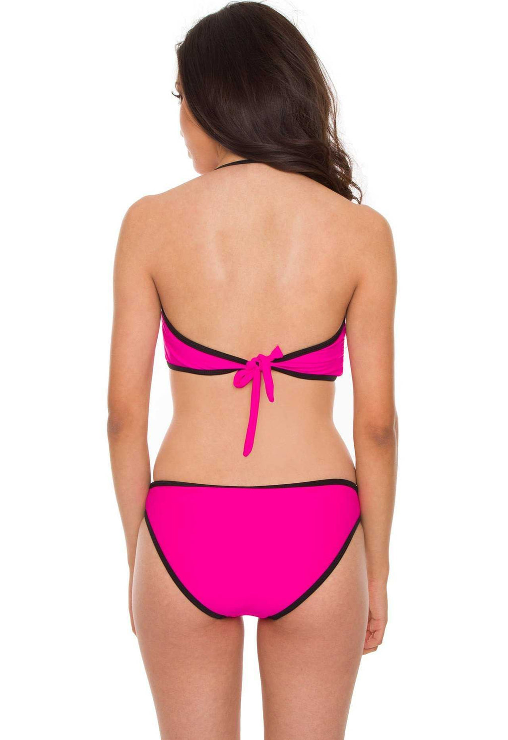 Swimwear - Marisol Bathing Top - Hot Pink
