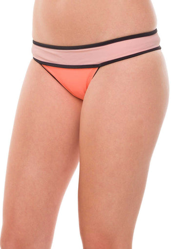 Swimwear - Meredith Bathing Bottom - Coral