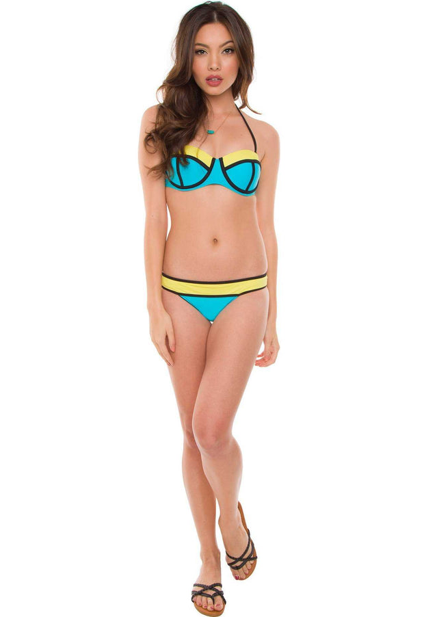 Swimwear - Meredith Bathing Top - Blue
