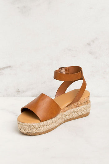 Priceless | Tan | Platform Sandals | Shoes | Womens