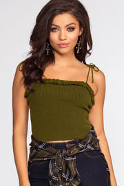 Tops - Ariana Top - Olive