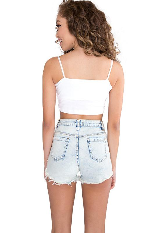 Tops - Basic Crop Top - White