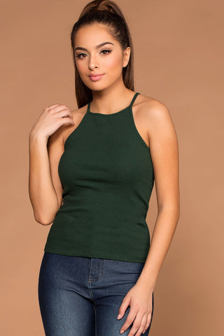 Vacay All Day Top - Olive